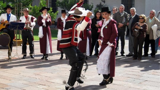15 typical dances of Chile