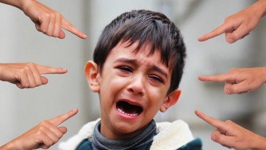 Verbal bullying: signs of onset