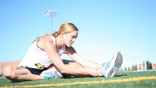 The stress of the athlete after an injury