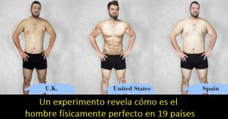 An experiment reveals what the physically perfect man looks like in 19 countries