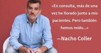 "Nacho Coller: ""Humor is therapeutic"