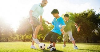 The role of parents in their children's sports development