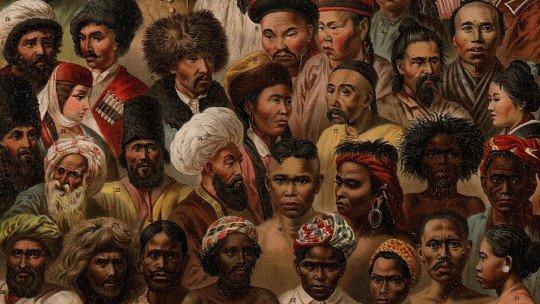 Samuel George Morton's polygenic theory of race
